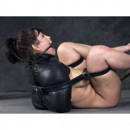 Camisole de force avec restriction jambes