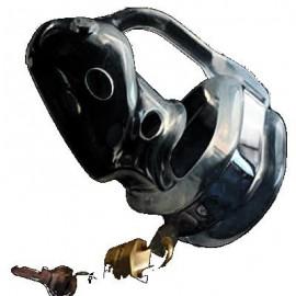 Cage de chasteté silicone Birdlocked noire