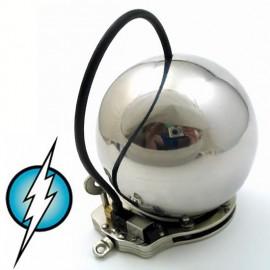 Cage de chasteté boule menotte E-stim