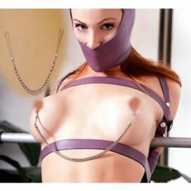 Pince tétons à pincette/ Nipple clamp