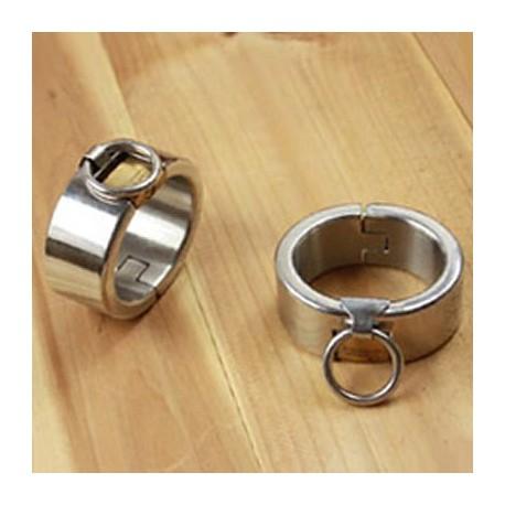 Bracelet de poignets en acier unisexe