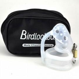 Cage de chasteté Birdlocked silicone spiked