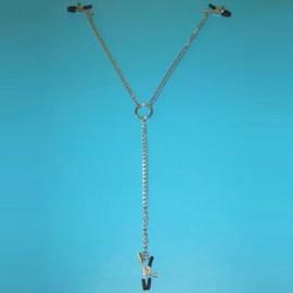Triple nipple clamps metal détachable