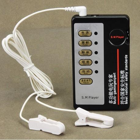 Electro sexe avec 2 clamps