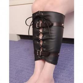 Contrainte de jambes en cuir