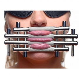 Pince lèvres et langue en acier inoxydable