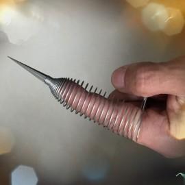 Gaine de doigt à pique en acier inoxydable spécial bondage