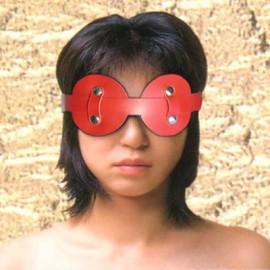 Masque cache yeux détachable rouge