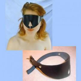 Masque cache yeux avec trou pour le nez
