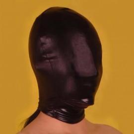 Cagoule latex complete noir