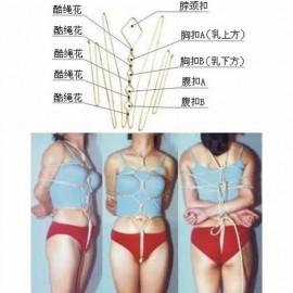 Costume sexy en corde -e018