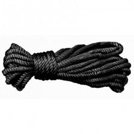 Corde de bondage noir en soie