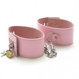 Menotte de chevilles premium à chaine pink