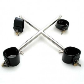 Croix de bondage poignets-chevilles